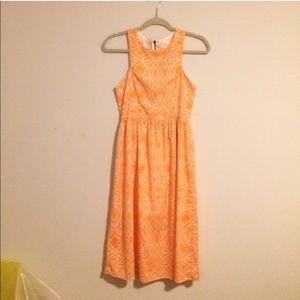 Everyly Neon Mid Calf Dress